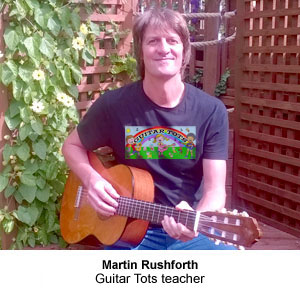 Martin Rushforth Guitar Teacher